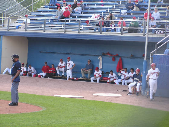 The Senators Dugout, Commerce Bank Park,Harrisburg